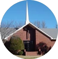Picture of front of Pilgrim Rest Missionary Baptist Church